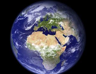 كوكب الأرض شكله وتمثيله