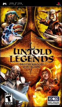 untold legends - Download PSP Games For Free-Untold Legends Brotherhood Of The Blade