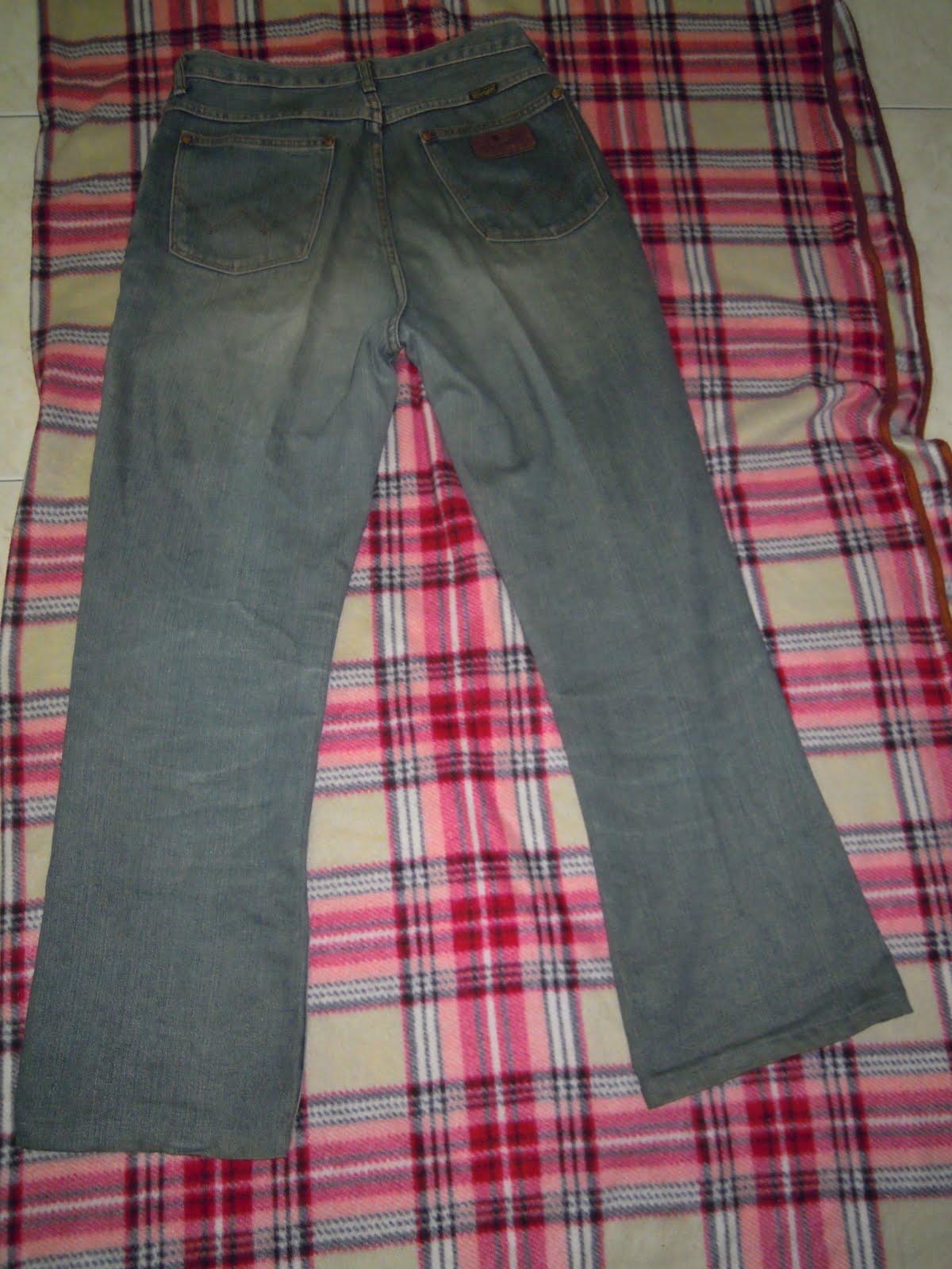 bintang bunder wrangler jeans size 30 made in japan. Black Bedroom Furniture Sets. Home Design Ideas