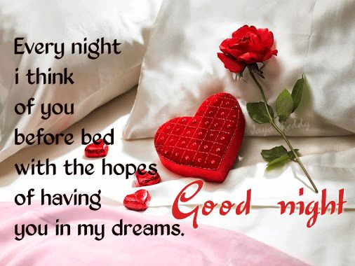 good night images with quotes for love