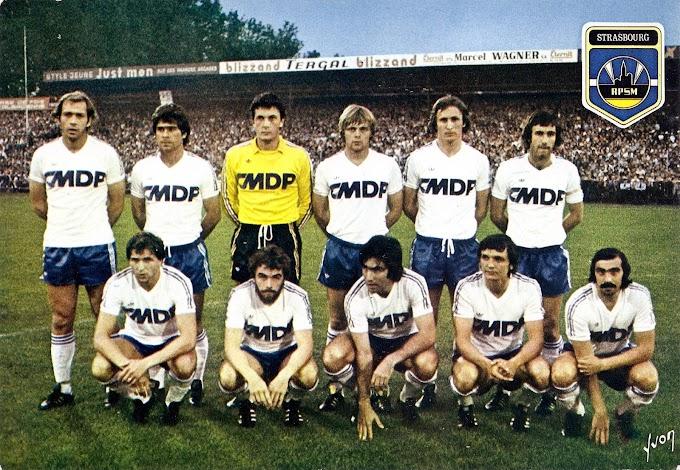 R.C STRASBOURG 1977-78.