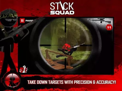 Download Game Android Stick Squad Sniper Contracts Apk v1.2.5 Mod (Unlimited Money)
