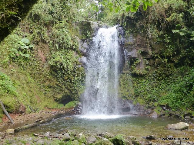 Tercera cascada Sendero a las Cascadas Perdidas de Boquete, Panamá