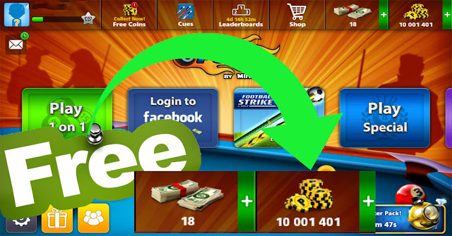 How to get coins 8 ball pool free