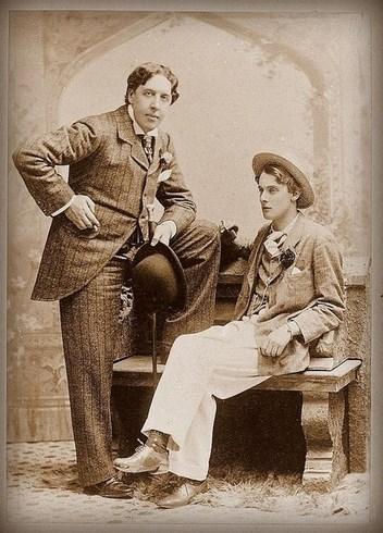 Oscar Wilde e Alfred Bruce Douglas nel maggio 1893