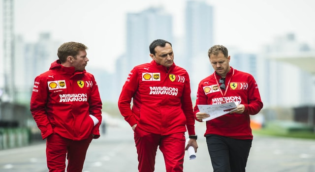 Binotto: Vettel is still the first driver in the team but ... things may change soon