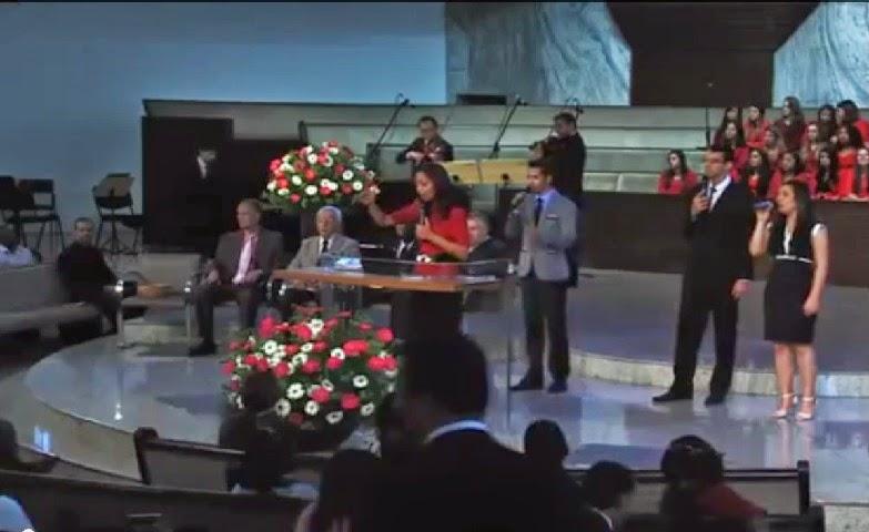 Culto do dia 23/08/2014 na Igreja do UNASP-sp com pastor Neumoel Stina Pregação Juízo com Graça e Misericórdia