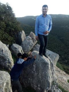 """معاذ الشناق """"جمال الصخور في عنبه الاردن"""
