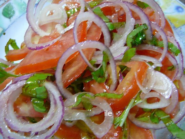 dieta de carne y ensalada