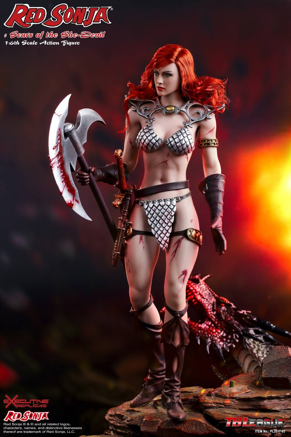 PHICEN - Red Sonja: Scars of the She-Devil  2