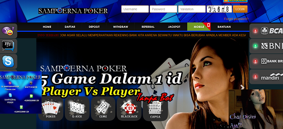 SMPPoker Situs Agen Judi Poker Online Uang Asli Terpercaya Indonesia