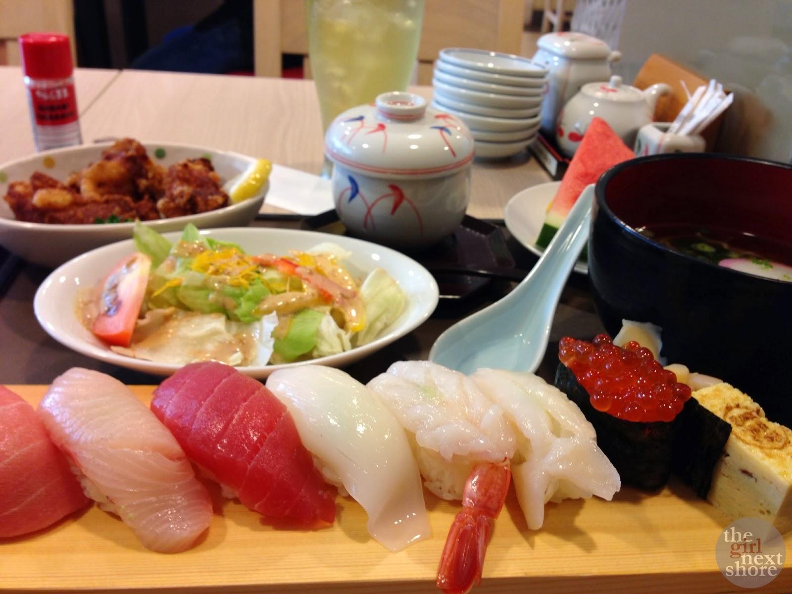 La-la-la-love… SUSHI/SASHIMI (Tomi Sushi, Novena, Singapore)