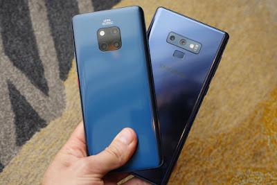 Samsung Galaxy Note 9 vs Huawei Mate 20 Pro 2