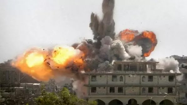 bom terowongan Jamyat Al-Zahra aleppo