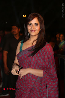 Telugu Television Anchor Anasuya Stills in Saree at Gemini TV Puraskaralu 2016 Event  0069.JPG