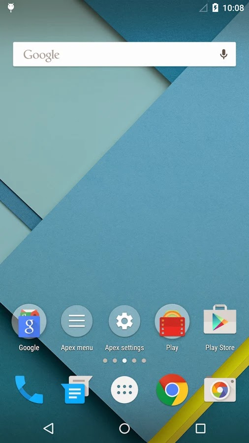 Apex Launcher Lollipop