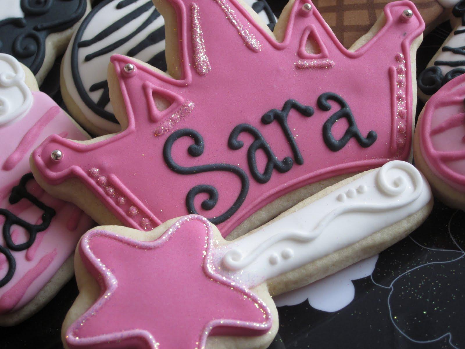 Birthday Cake Name Sara