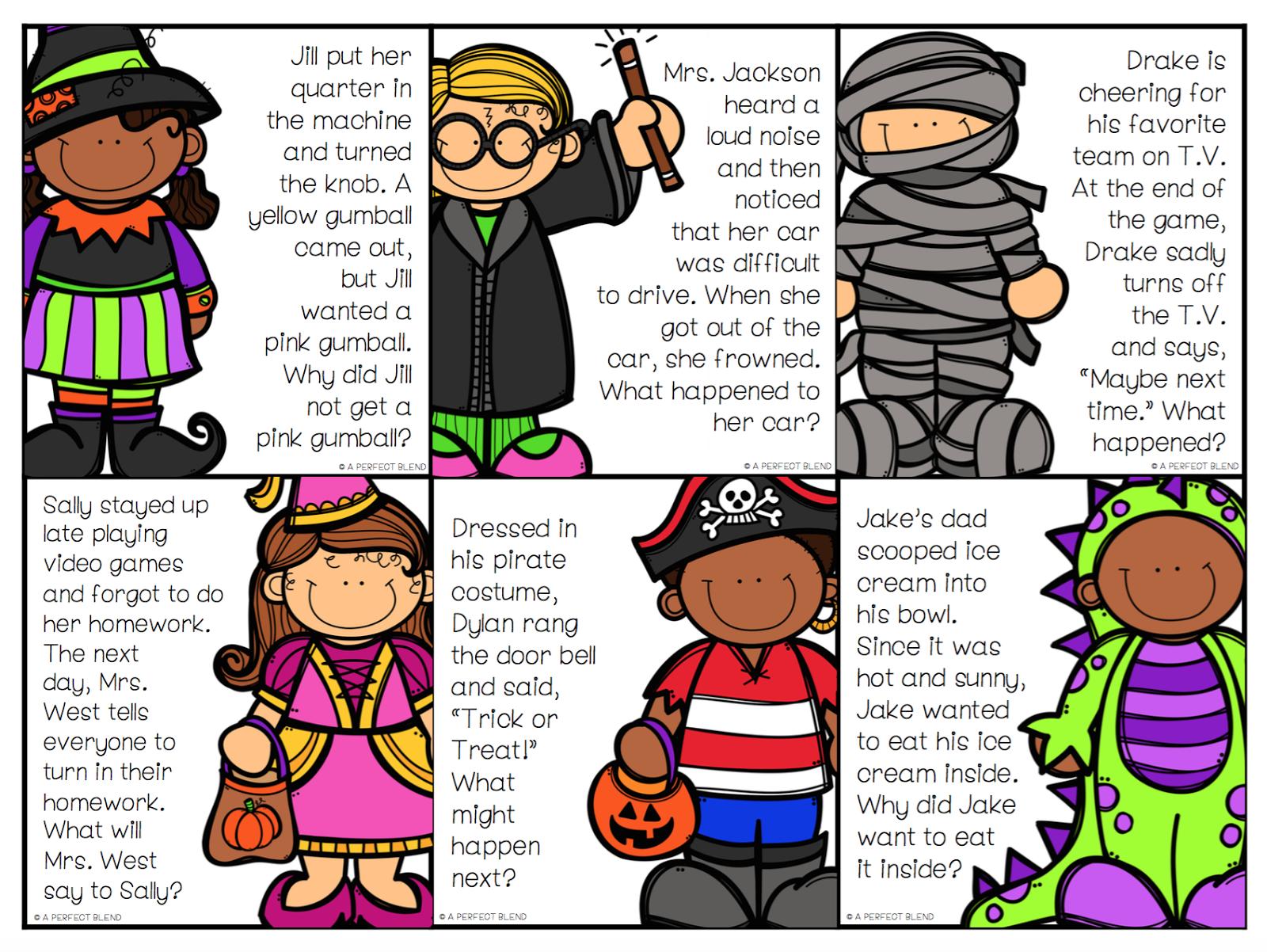 Halloween Themed Language Tricks Amp Activities