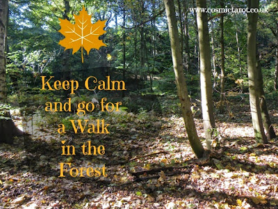 Keep calm and go for a walk