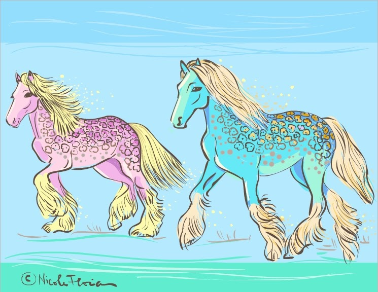 nicoles horse coloring pages - photo#8