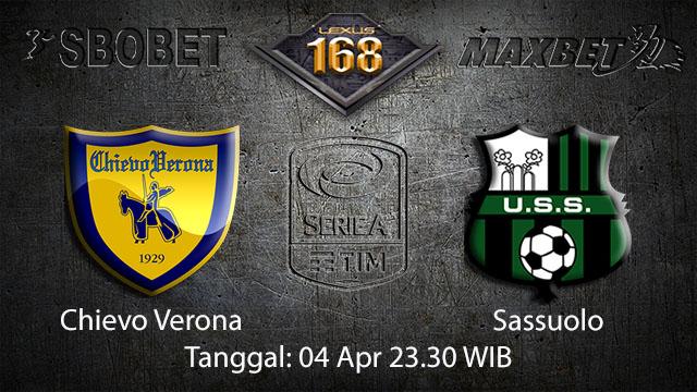 BOLA88 - PREDIKSI TARUHAN BOLA CHIEVO VS SASSUOLO 04 APRIL 2018 ( ITALIAN SERIE A )