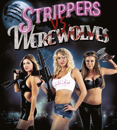 Poster Of Strippers vs Werewolves 2012 In Hindi Bluray 720P Free Download