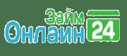 Логотип Займ Онлайн 24