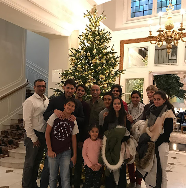 Mahesh babu Christmas Holiday Celebrations with Family