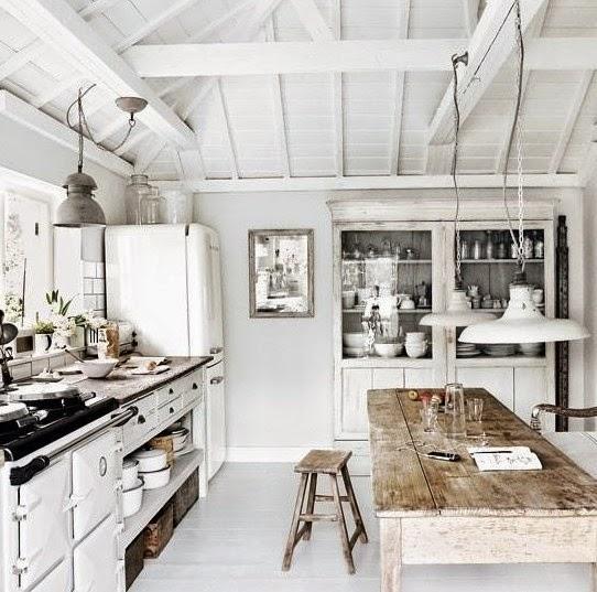 decorar cocina rústica