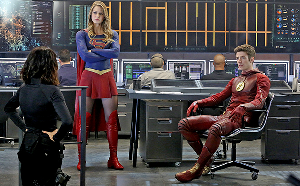 crossover the flash supergirl