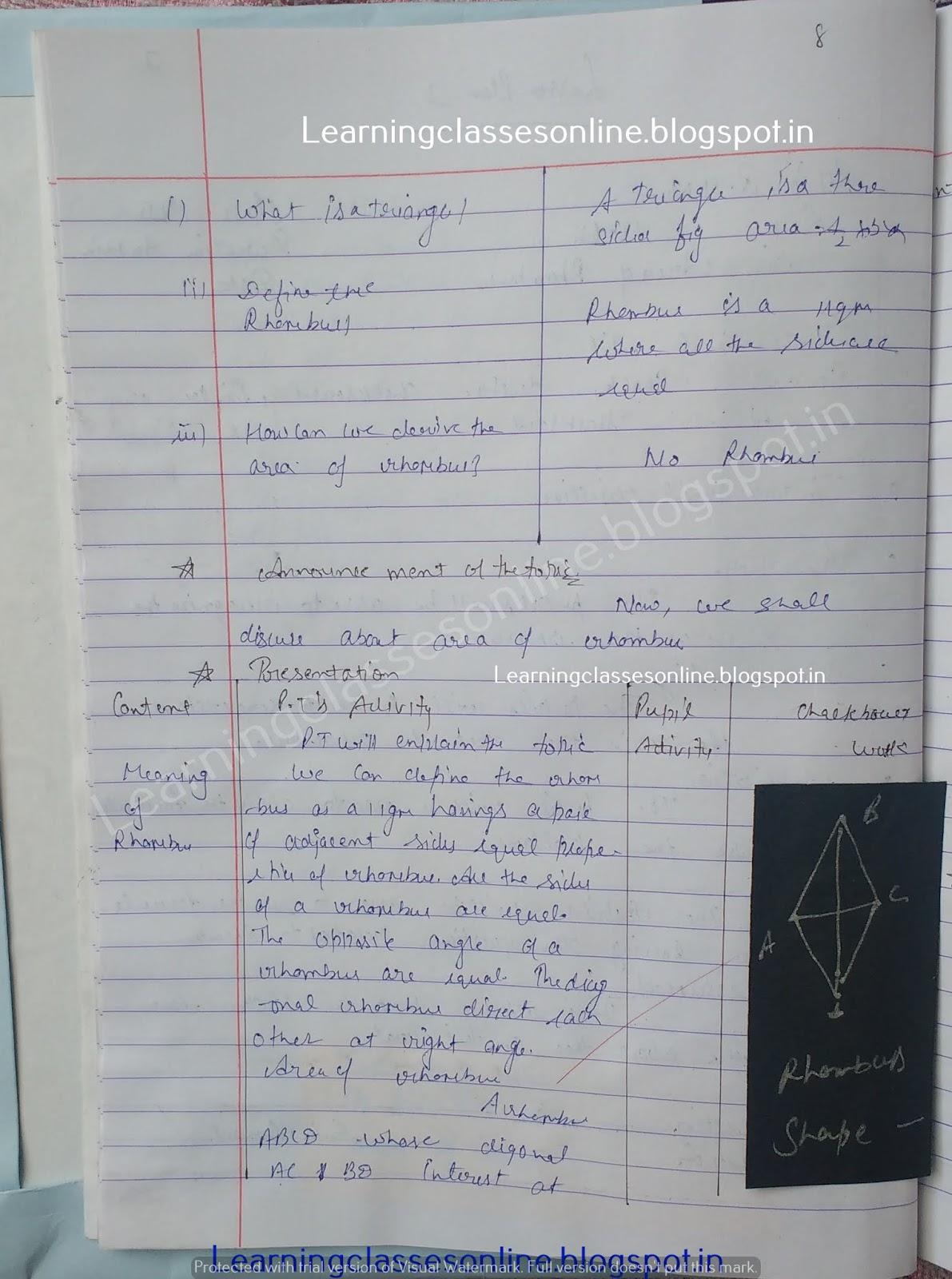 Teaching Skills In Mathematics