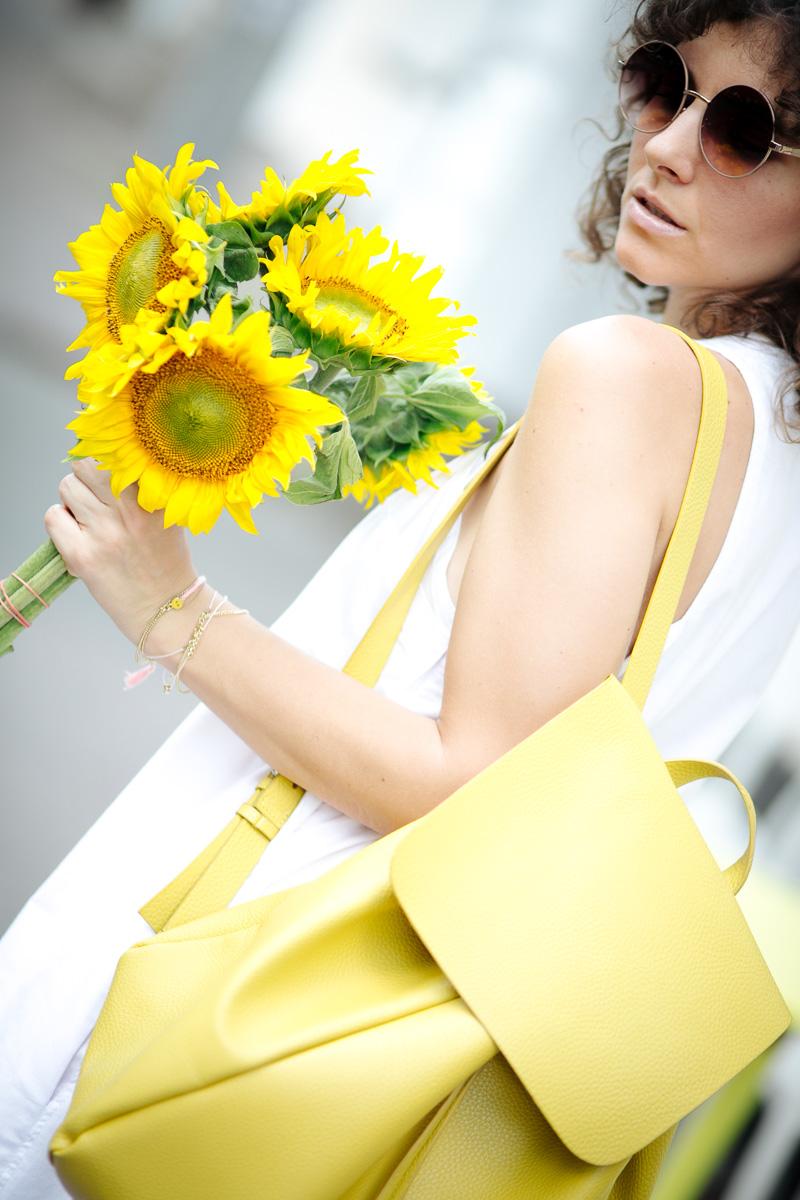 летние образы блогера