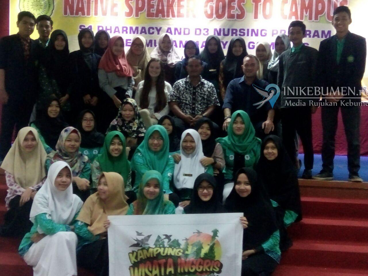 Hadirkan Native Speaker, Stikes Muhammadiyah Gombong Tingkatkan Kemampuan Bahasa Asing Mahasiswa