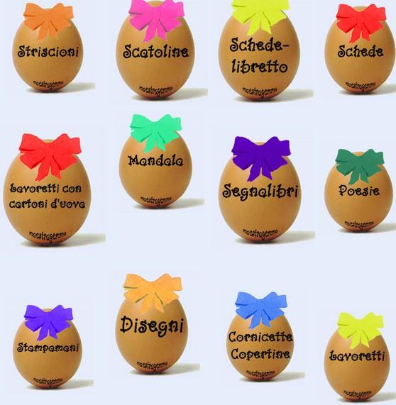 """Ben noto Le sfumature danno vita ai colori"""": Prepariamo la festa di Pasqua CZ91"""