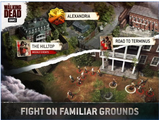 Game Survival Online Android: The Walking Dead No Man Land MOD APK