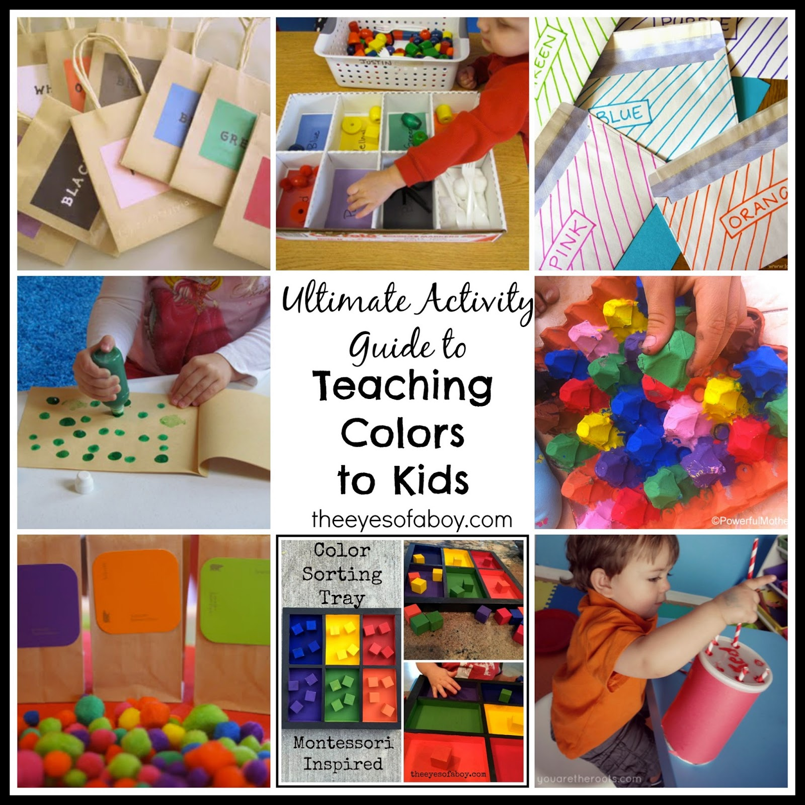 the ultimate activity guide to teaching colors to toddlers and preschoolers kids the eyes of. Black Bedroom Furniture Sets. Home Design Ideas