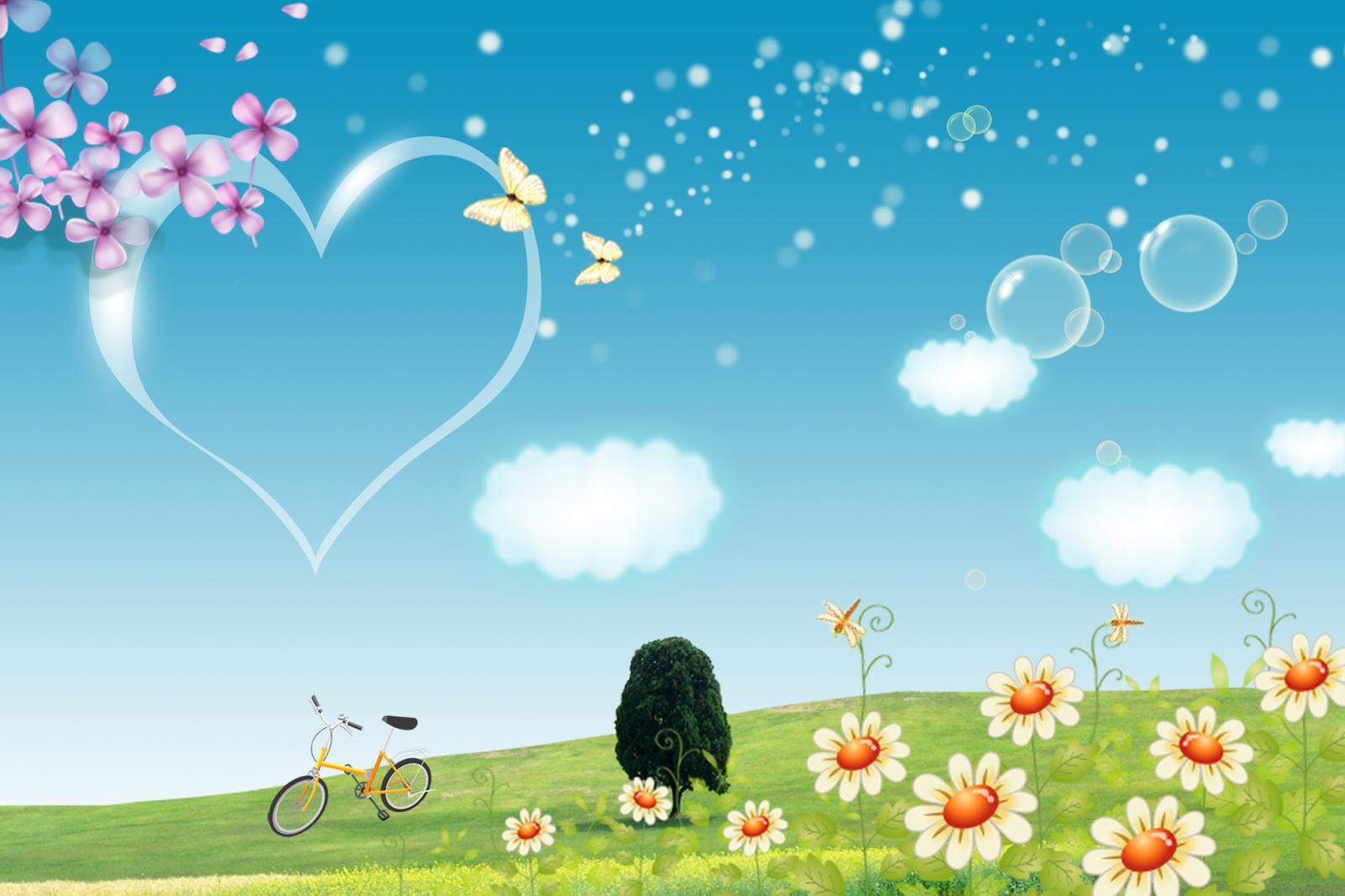 Fondos infantiles para decorar caritas vectores gratis - Fotografias para decorar ...
