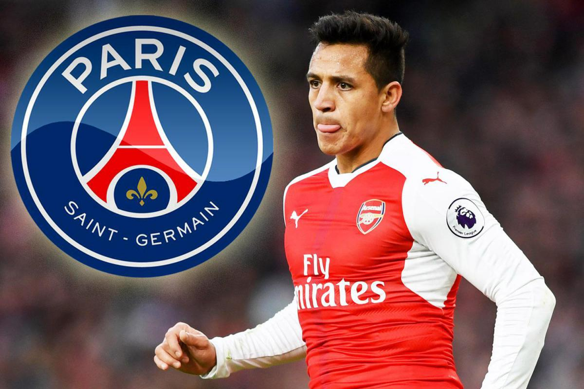 PSG keen to sign Alexis Sanchez from Arsenal