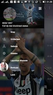 BBM Mod Dybala Based V3.0.0.18 Apk Terbaru