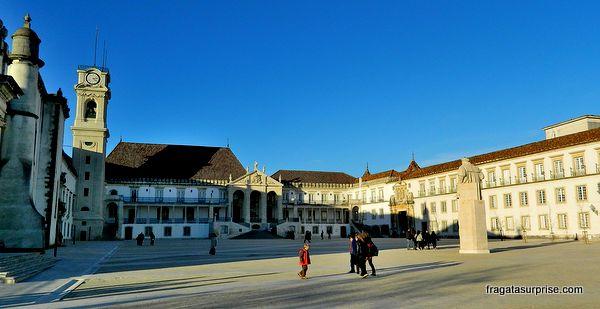 Paço das Escolas, principal edifício histórico da Universidade de Coimbra