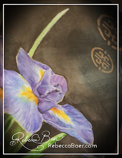 Learn to Paint Watercolor Irises | RebeccaBaer.com