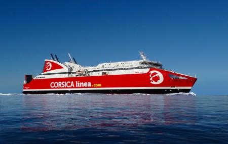 Billets pas cher de ferry sur Corsica Linea