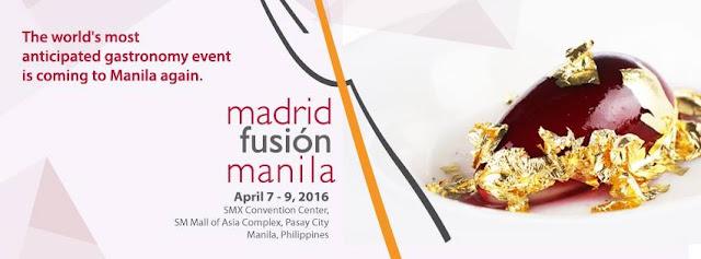 FTW! Blog, Madrid Fusion Manila 2016, #MFM2016 , #MadridFusionManila , #VisitPhilippinesAgain2016 , #ItsMoreFuninthePhilippines
