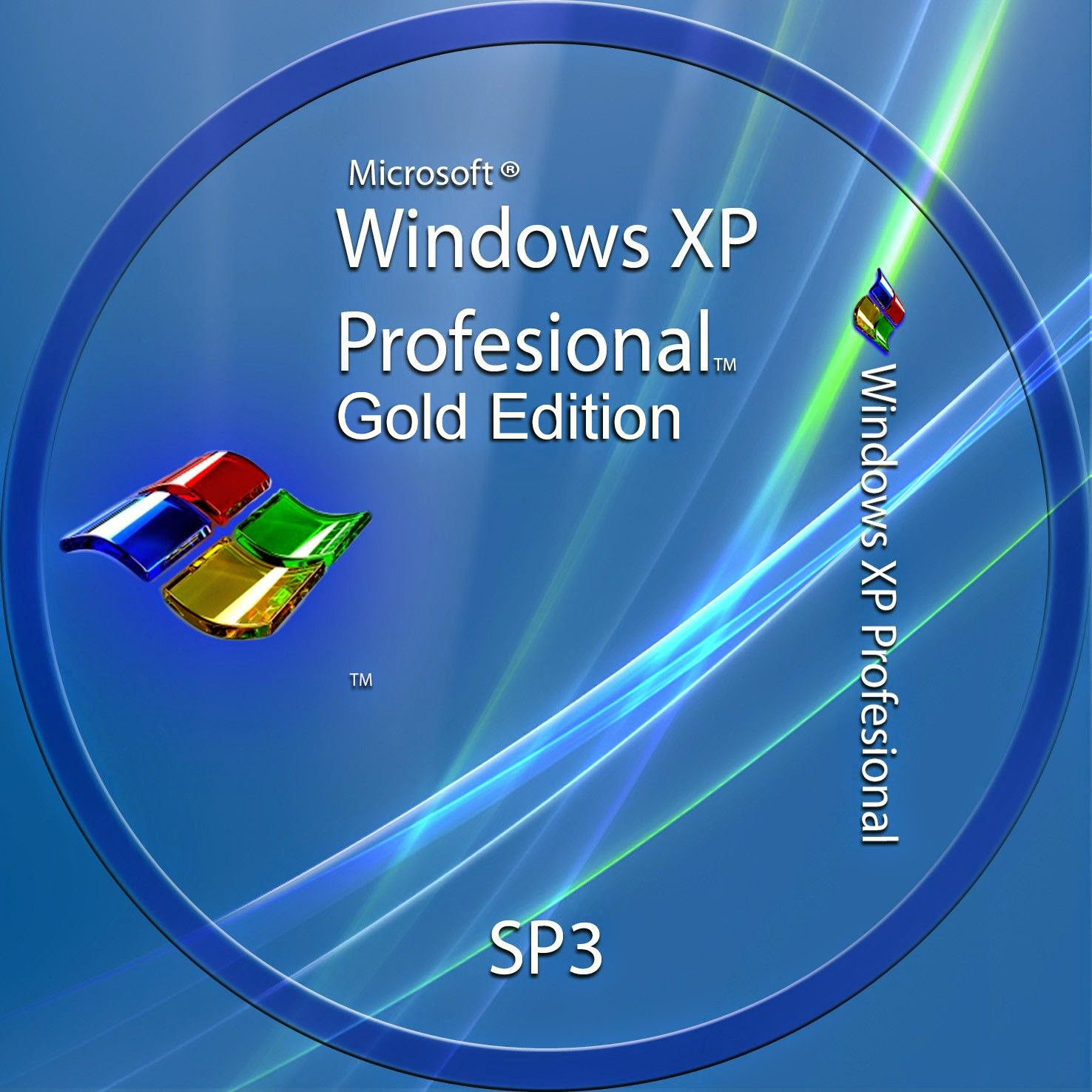 Universal Window XP Professional Gold Edition SP3 Genuine