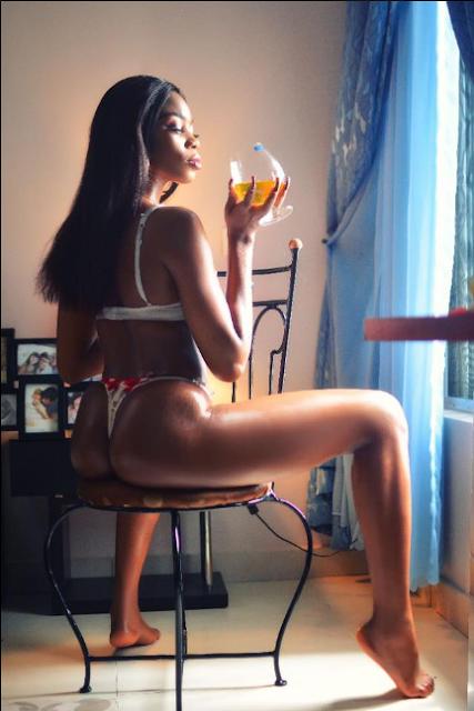 Ufomba-Shelly-Girl-Onyinyechi-goes-nude-in-a-bathtub-Photoshoot-3