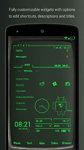 PipTec Green Icons & Live Wall v2.8.2 Apk