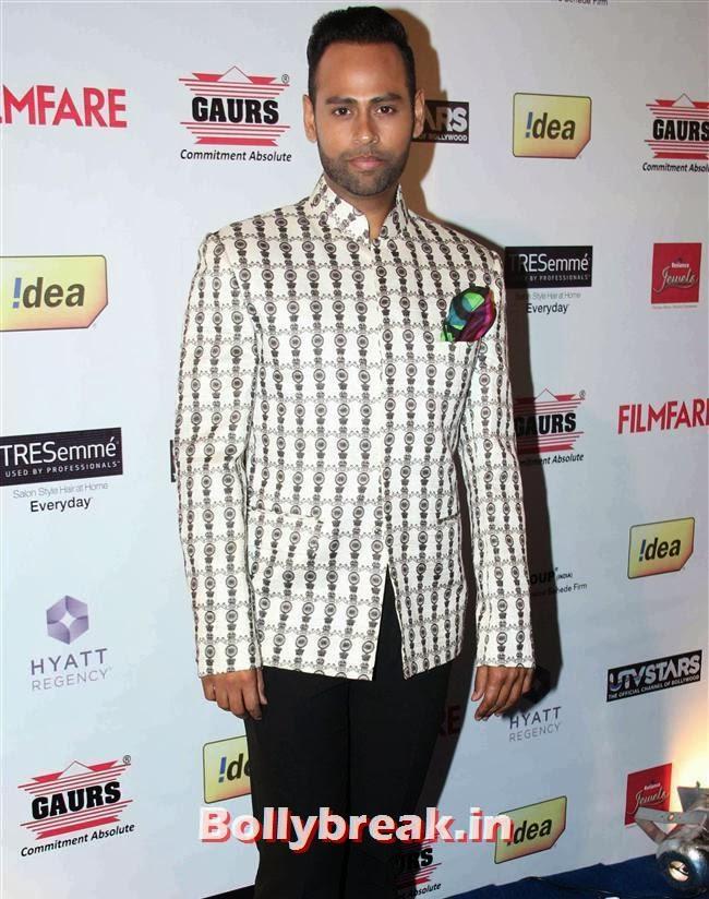 VJ Andy, Bollywood Actors at 59th Filmfare Pre Awards Party