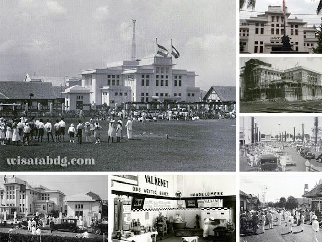 Gedung Jaarbeurs, Saksi Bisu Kejayaan Pameran Bisnis dan Hiburan Bandung Tempo Doeloe