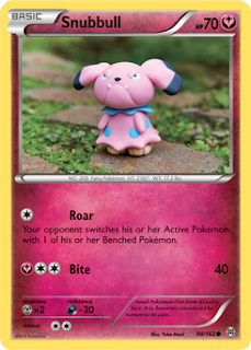 Snubbull BREAKthrough Pokemon Card