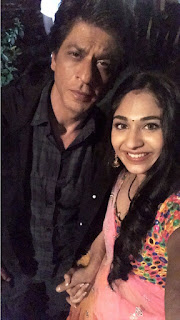 Vidhi Pandya's fan-girl moment with the Badshah of Bollywood